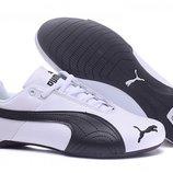 Кроссовки Puma Ferrari Inflection - бело-черные