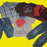 Пакет вещей на мальчика 4-5 лет,рост 104-110 см,H&M