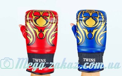Снарядные перчатки с открытым большим пальцем Twins 5437 2 цвета, M/L/XL