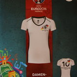 Женская футболка Euro 2016 р. S,L Lidl Германия