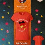 Футболка для девочки Euro 2016 р.110/116 Lidl Германия