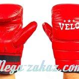 Снарядные перчатки Velo 4003 кожа, S/M/L/XL