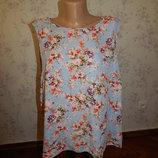 блузка шифоновая стильная модная р18 большой размер