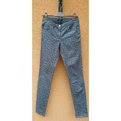 Леопардовые джинсы женские H&M