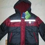 Красивая куртка Lupilu Германия, на флисе, 98, 104