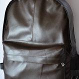 Мужской городской спортивный рюкзак Nike найк коричневый кожа кожаный из кожи