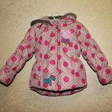 демисезонная зимняя куртка курточка 4-5 маломерит