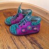 Детские демисезонные ботинки ботиночки Salamander 20 разм 13 см