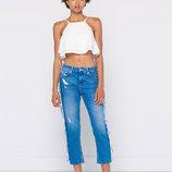 джинсы бойфренды Pull&Bear оригинал из Испании р. 40-L длина 7/8
