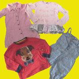 Пакет вещей на девочку 4-6 лет,рост 110-116 см,George