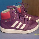 Adidas демисезонные кроссовки хайтопы 35р 21см