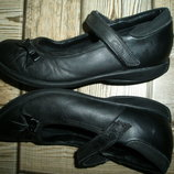 кожаные туфли Clarks стелька 20.5 см