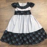 Нарядное платье с подъюбником из фатина р.110-116