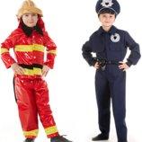 Прокат костюм поліцейський, пожежник, пожарник, пожарный, полицейский, моряк, пілот, пилот- Позняки