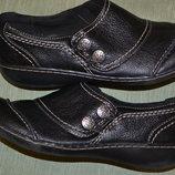 великолепный кожаный туфель Clarks