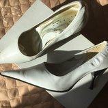 Туфли Nina Romagnoli р.36-36.5 кожа. Скидка 10% до31.03