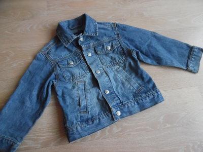 Детский джинсовый пиджак всегда в моде