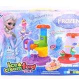 Набор для творчества лепка тесто пластилин фабрика мороженного dn827-fz