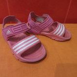 Босоножки-Кроксы Adidas р. 24 6,5 Вьетнам, по стельке-16,5 см