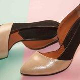 Туфли - лодочки из натуральной Кожи от производителя