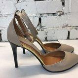 Туфли - лодочки на шпильке из натуральной кожи Коллекция 2017