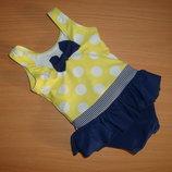 Купальник малышке или одежда для пупса 0-3 мес.