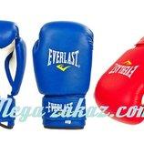 Перчатки боксерские на липучке Юниор 0033, 2 цвета 4-12 унций кожвинил