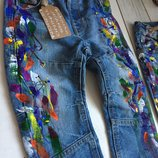 by koko4ka Ручная Работа джинсы скинни кляксы брызги краской принт крутые