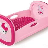 Smoby Колыбель для куклы игрушечная Hello Kitty 24267
