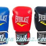 Перчатки боксерские Elast 3987 на липучке, 3 цвета 8-12 унций кожвинил