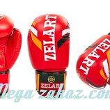 Перчатки боксерские на липучке 4276 10-12 унций кожвинил
