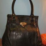 Шикарная женская сумка LOUVIER 100% кожа