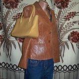 Фірмова шкіряна сумочка Genuine leather, Італія.