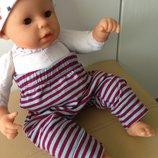 одежда штанишки для куклы Анабель,шу-Шу, беби борна 42-55 см