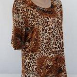 Блуза летняя 54-56 р. Распродажа