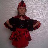 Детский карнавальный костюм божьей коровки .Прокат