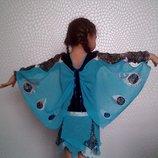 Карнавальный костюм Бабочка голубая метелика, метелик, бабочка, бабочки