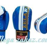 Перчатки боксерские на липучке 4275 10- 12 унций кожвинил