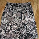 Шикарная фирменная котоновая юбка Authentic, размер 42