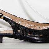 Туфли-Босоножки Натуральная Кожа Италия