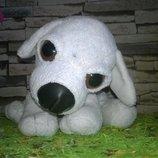 Мягкая игрушка собачка пес глазастик кукла