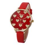 Новинка Люксовые часы Geneva, красные