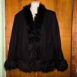Пальто Пальто NL Collection, р. 52-54.В составе шерсть