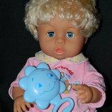 кукла пупс бейби Ronston озвученная 40 см