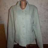 пиджак жакет стильный модный р 20 большой размер