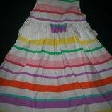 Отличное платье Y.d. 3-4г
