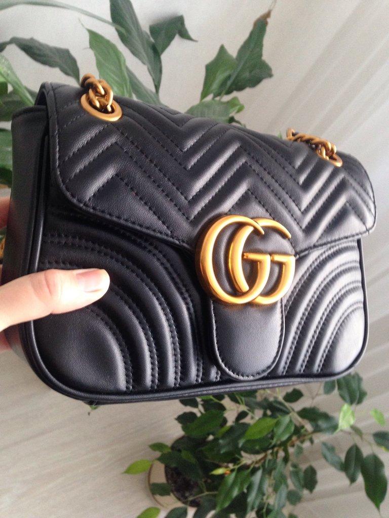 Купить онлайн брендовые большие сумки Gucci от 26 370 руб