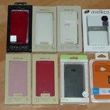 Чехол книжка флип HTC One mini M4, One M7, One M8 mini. Кожа