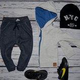 Очень крутые фирменные спортивные штаны треники 1 - 2 года 86 см Next некст