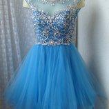 Платье вечернее выпускное Luxuar р.42 7397